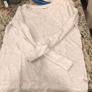 Victoria's Secret Pink xs top in grey like new